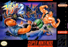 Box art for the game Final Fight 2