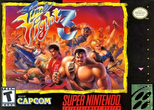 Box art for the game Final Fight 3