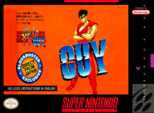 Box art for the game Final Fight Guy
