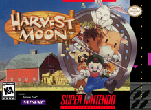 Box art for the game Harvest Moon