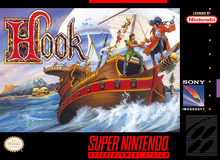Box art for the game Hook