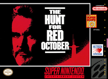 Box art for the game Hunt For Red October