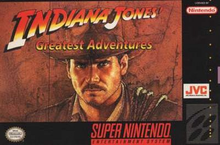 Box art for the game Indiana Jones' Greatest Adventure