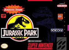 Capa do jogo Jurassic Park