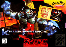 Box art for the game Killer Instinct