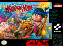 Box art for the game Legend of the Mystical Ninja