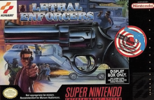 Box art for the game Lethal Enforcers