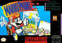 Box art for the game Mario Paint