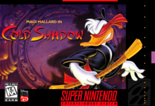 Box art for the game Maui Mallard in Cold Shadow