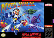 Box art for the game Mega Man X