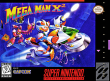 Box art for the game Mega Man X2
