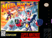 Box art for the game Mega Man X3