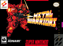 Box art for the game Metal Warriors