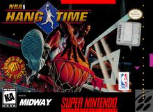 Box art for the game NBA Hang Time