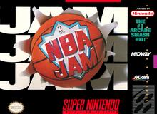 Box art for the game NBA Jam (1994)