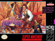 Box art for the game New Horizons