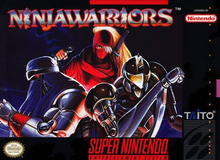 Box art for the game The Ninja Warriors