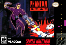 Box art for the game Phantom 2040