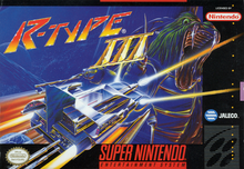 Box art for the game R-Type III: The Third Lightning