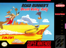 Box art for the game Road Runner: Death Valley Rally