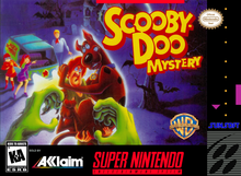 Box art for the game Scooby-Doo Mystery