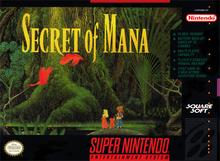 Box art for the game Secret of Mana