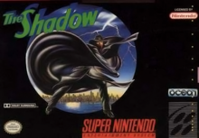 Box art for the game The Shadow
