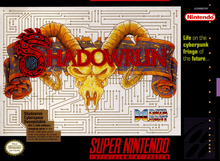 Box art for the game Shadowrun (1993)