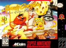 Box art for the game Speedy Gonzales: Los Gatos Bandidos