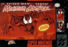 Box art for the game Spider-Man -- Venom: Maximum Carnage