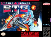 Box art for the game Strike Gunner S.T.G