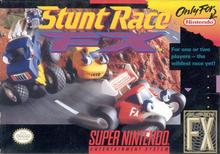 Box art for the game Stunt Race FX