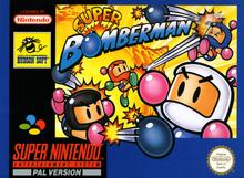Box art for the game Super Bomberman
