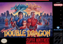 Box art for the game Super Double Dragon