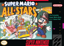 Box art for the game Super Mario All-Stars
