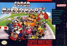 Box art for the game Super Mario Kart