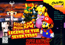 Box art for the game Super Mario RPG: Legend of the Seven Stars