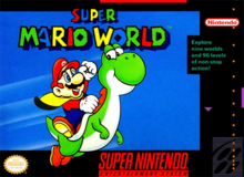 Box art for the game Super Mario World