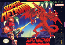 Box art for the game Super Metroid