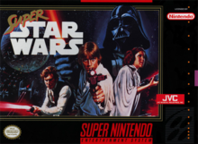 Box art for the game Super Star Wars