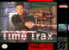 Box art for the game Time Trax