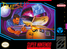 Box art for the game Timeslip