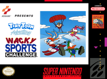 Capa do jogo Tiny Toon Adventures: Wacky Sports Challenge