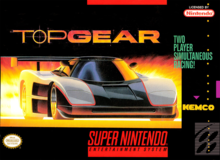 Box art for the game Top Gear