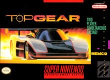 Capa do jogo Top Gear