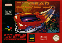 Box art for the game Top Gear 3000