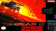Box art for the game Top Gear II