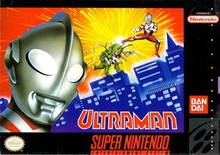 Box art for the game Ultraman: Towards the Future