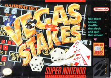 Box art for the game Vegas Stakes