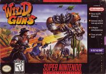 Box art for the game Wild Guns